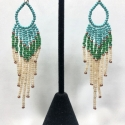"""Sayulita"" Beaded Dangles"