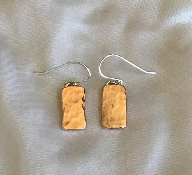 Copper Hammered Blocks