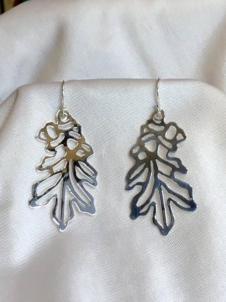 Sterling Silver Oak Leaves