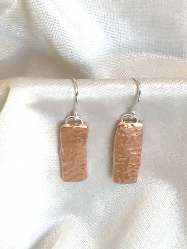 Copper Hammered Bars