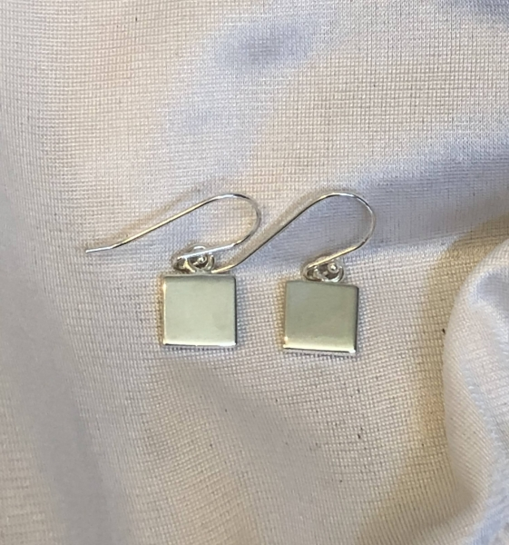 Sterling Silver Squares