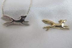 Mini Fox Necklace