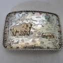 Sheep herding Buckle