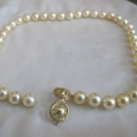 Gold South Sea Pearls with an 18K gold clasp