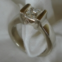 14k Ascher Engagement ring