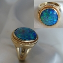 Opal Ring 14k yellow