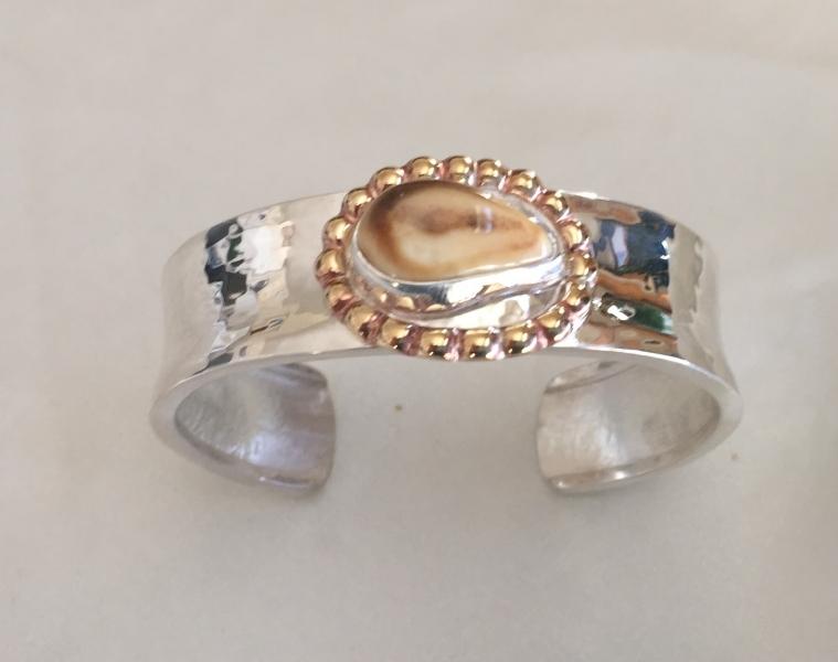 Brass Bead elk Ivory Bracelet