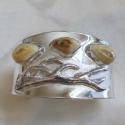 Sterling Silver Antler Bracelet