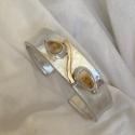 sterling-w-14k-elk-Ivory-bracelt