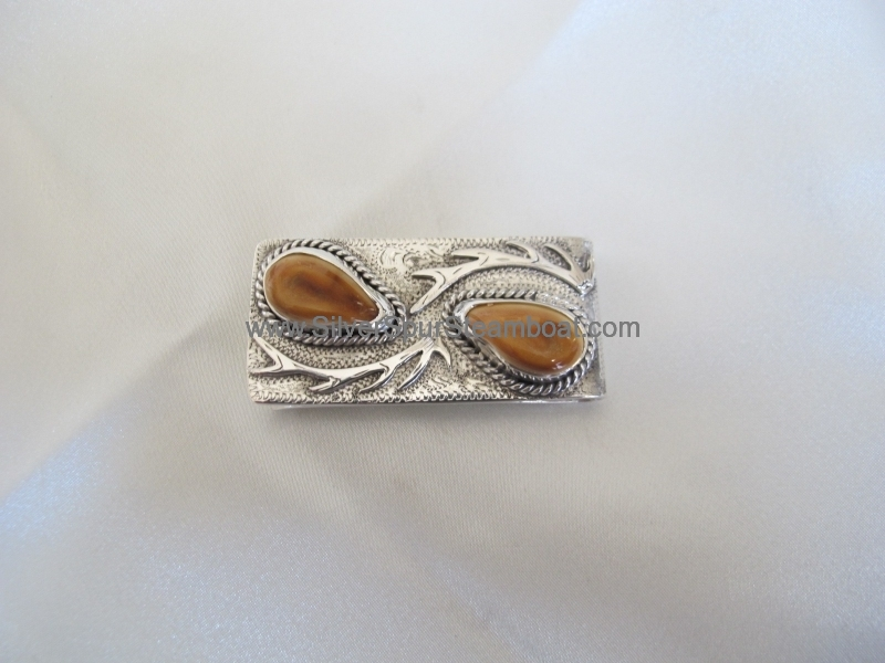 Two Ivory money clip