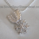 Sterling Silver Spur W/18inch chain