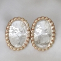 oval-with-brass-beaded-earrings $165