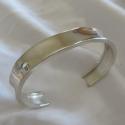 plain-steling-silver-bracelet $400